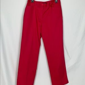 Jones New York signature pink stretch pants size 8